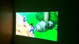 LG PW800 TV Minibeam Projector test lights on/off