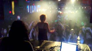 """Skrillex feat. Penny live """"All I Ask Of You"""" @ Frequency, Las Vegas, NV 6-17-11"""