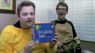 Drunk Password (Beer and Board Games) with Greg Benson and Hank Green