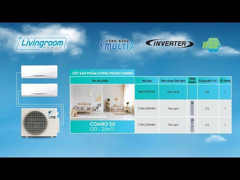 Giải pháp điều hòa không khí tối ưu cho phòng khách