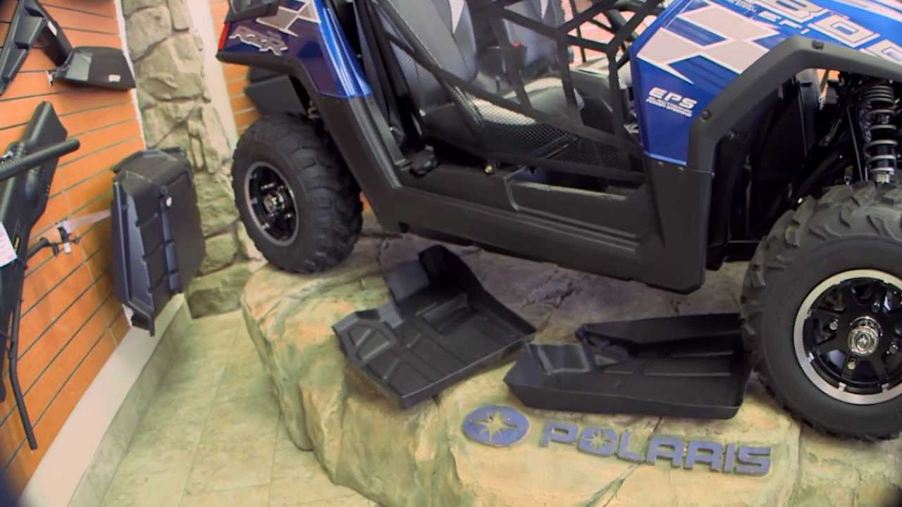Polaris Rzr Razor Rubber Floor Mats Solution To The Dust