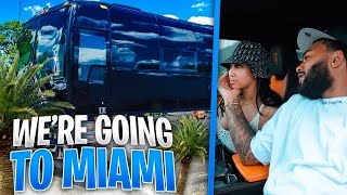 WE TOOK A RISK AND WENT TO MIAMI IN A TOUR BUS !!!