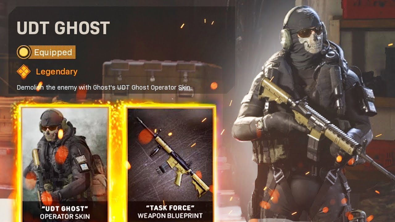 How To Get New Og Ghost Warzone Skin Modern Warfare 2 Remastered