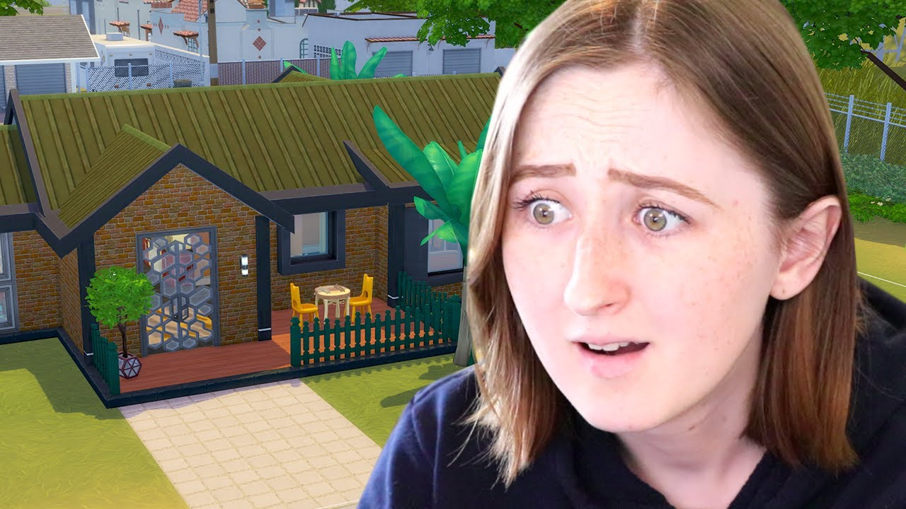 I built a house using only the WORST items in The Sims 4 thumbnail