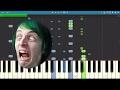 Zelda Parody Song - Shrines Around The World - Piano Tutorial - DA Games - Animaniacs Parody
