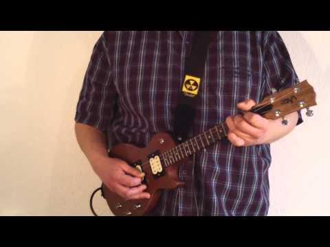 Hallelujah ( Leonard Cohen ) - Electric Tenor Ukulele Instrumental