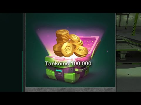 100K TANKOINS FROM NEW CONTAINER | Tanki Online