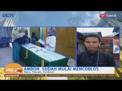 Begini Suasana Pemungutan Suara Pemilu 2019 di Ambon - SIP 17/04