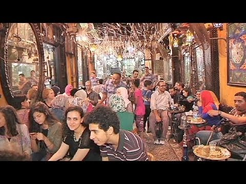 Egyptians put troubles aside as Cairo comes alive for Ramadan