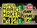 SUPER MARIO MAKER # 42 ★ Eure Level! X. [HD | 60fps] Let's Play Super Mario Maker