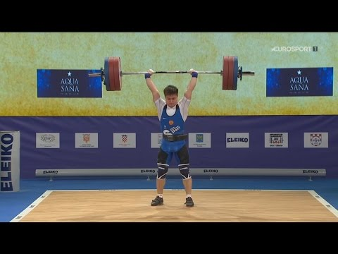 2017 European Weightlifting Championships Men 69 kg \ Тяжела
