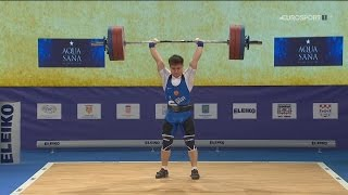 2017 European Weightlifting Championships Men 69 kg \ Тяжелая атлетика Чемпионат Европы [1080]