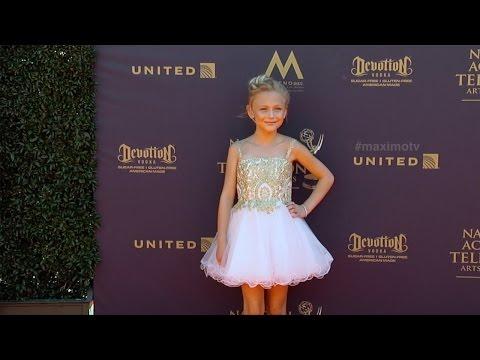 Alyvia Alyn Lind 2017 Daytime Emmy Awards Red Carpet