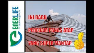 Aluminium Foil Atap - Peredam Panas Atap - Foam Insulation 8mm - METERAN