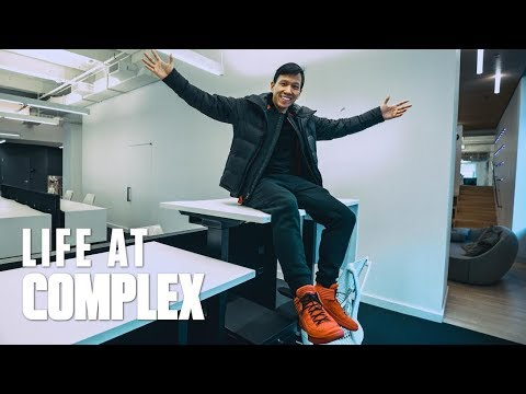 TOUR OF THE NEW COMPLEX OFFICE! | #LIFEATCOMPLEX
