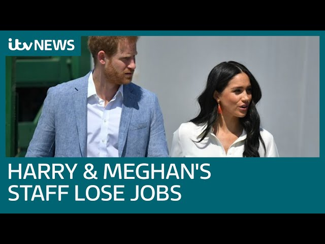 Harry and Meghan's staff lose their jobs as couple step back from royal duties | ITV News