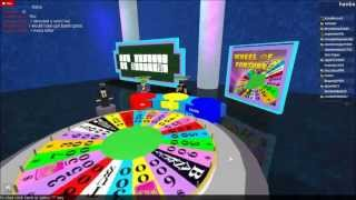 Game Review (ROBLOX Wheel Of Fortune)