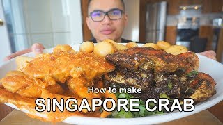How to make SPICY CHILI CRAB - SINGAPORE STYLE