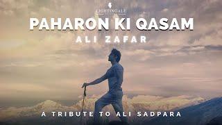 Paharon Ki Qasam | Ali Zafar | A Tribute To Ali Sadpara | Official Video