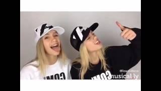 lisa and lena    knock knock    musical ly