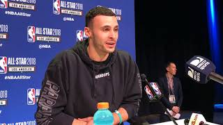 Larry Nance Jr. watched his dad's 1984 win last night to prep for dunk contest