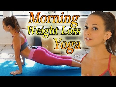 Morning Yoga For Weight Loss - 20 Minute Workout Fat Burning