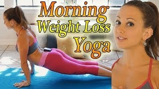 Morning Yoga For Weight Loss - 20 Minute Workout Fat Burning Yoga Meltdown Beginner & Intermediate thumbnail