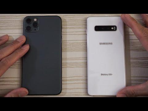 IPhone 11 Pro Max Vs Samsung S10 Plus - Speed Test!