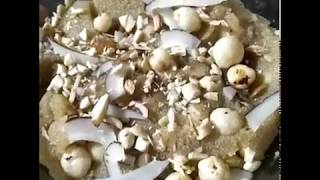 Suji halwa recipe / tasty semolina fudge