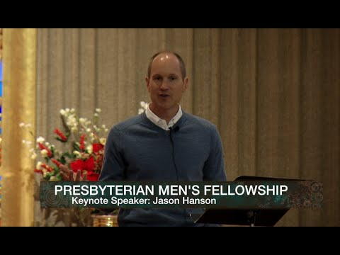 Jason Hanson PRESBYTERIAN MEN