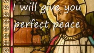 Perfect Peace - Laura Story (lyrics)