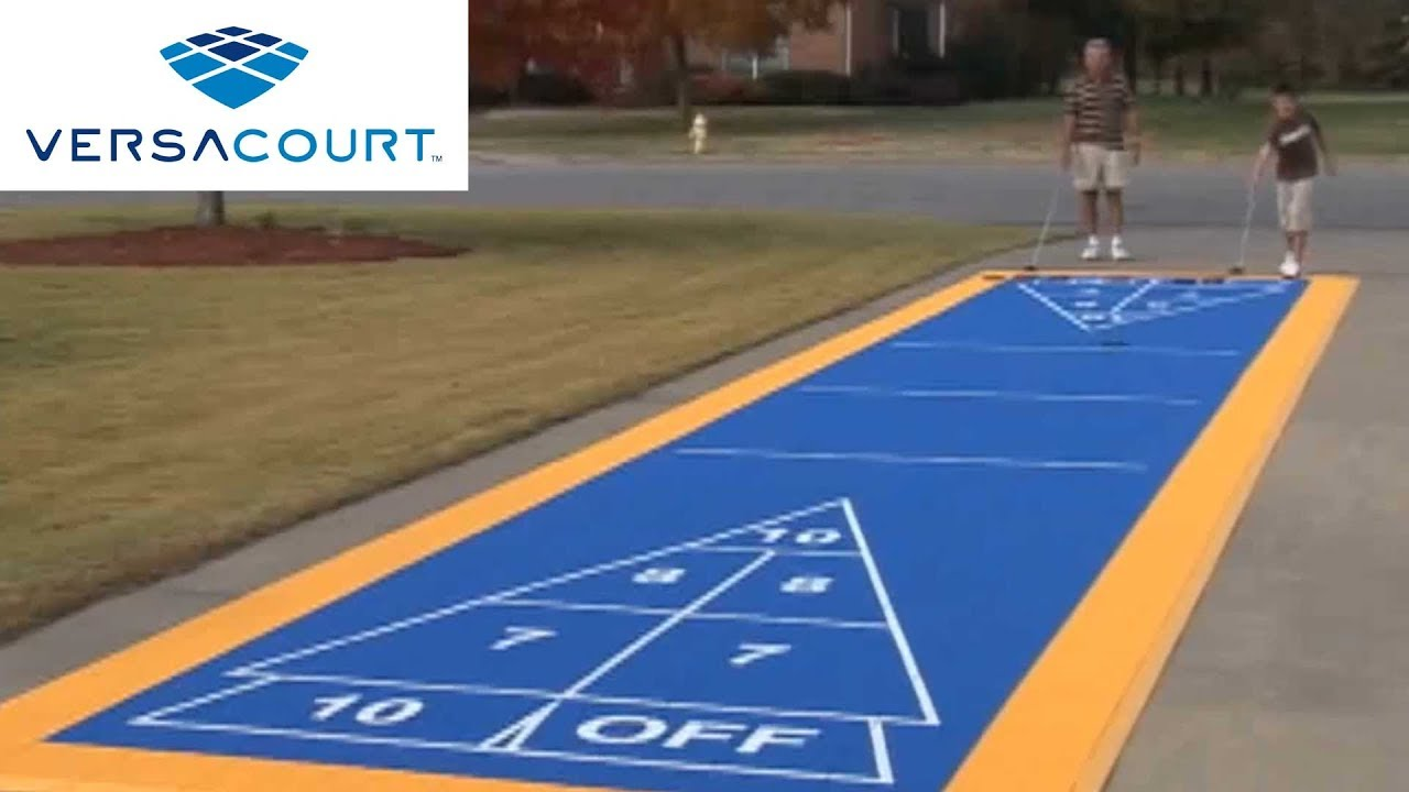 Shuffleboard Court By VersaCourt