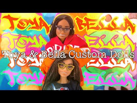 DIY - How to Make: Toya & Bella Made to Move Custom Dolls