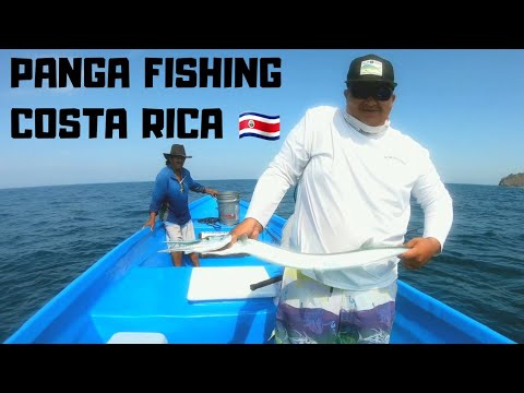 Panga Fishing In Costa Rica