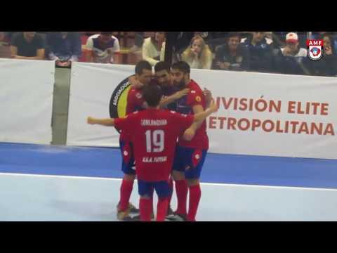 #FutsalMetro #DivisionElite #Fecha1 UGA vs Def  Cervantes
