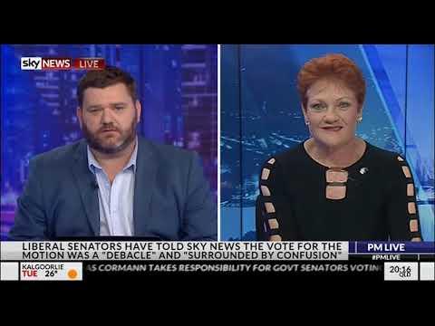 IT'S OKAY TO BE WHITE   Pauline Hanson on Paul Murray Live