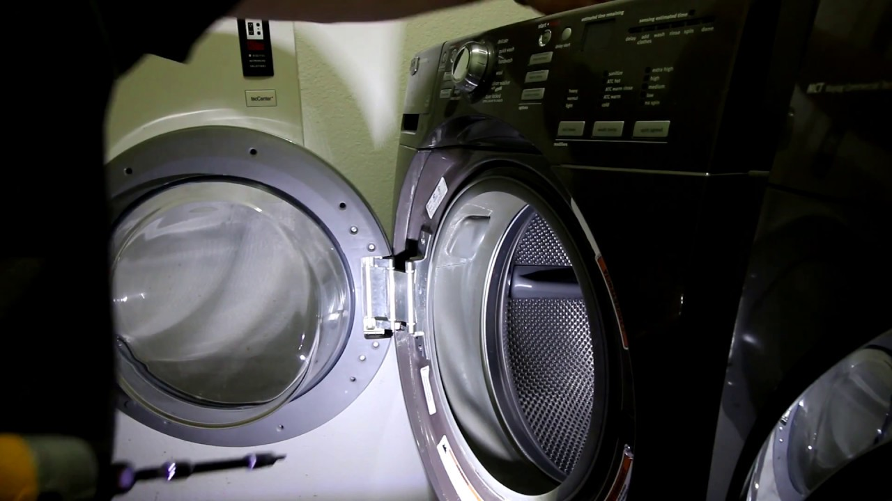 Maytag 9000 Series Washer Door Hinge And Tub Belt Part 1