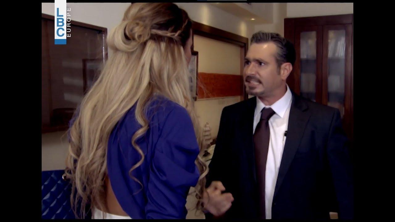 دانا طار عقلها لما شافت تينا عند سامي بالمكتب ????????
