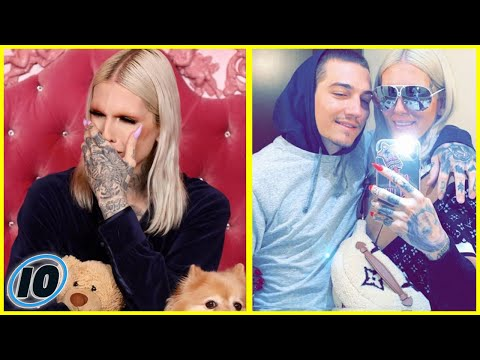 Jeffree Star Is Feuding With Ex Nathan Schwandt And It's Getting Messy
