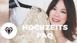 Unsere HOCHZEIT - FAQ I Location, Motto, Kleid, Tipps I Nela Lee