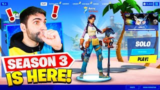 SEASON 3 ALL Unlocks! New Battle Pass + MAP! (Fortnite Battle Royale Chapter 2 Season 3 LIVE)