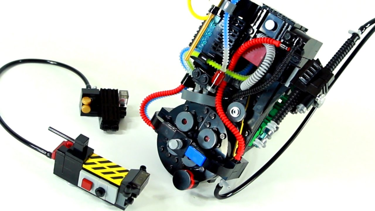 Lego 174 Ghostbusters Proton Pack Amp Ghost Trap By Dj Heigh7