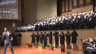 """Praise Him"" Rev. Trini Massie & The New Psalmist Baptist Church Mass Choir"