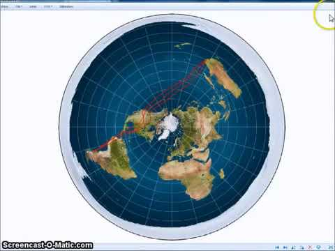 The Earth is FLAT ~The planes help to prove the plane, vid 1, mirrored thumbnail