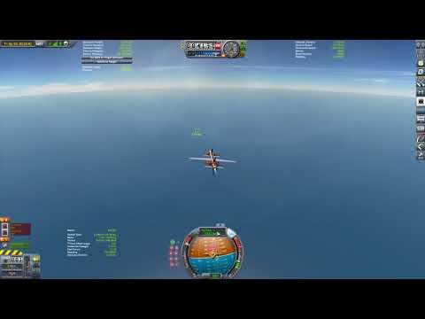 KSP Modular Missile Parts ICBM Final Approach