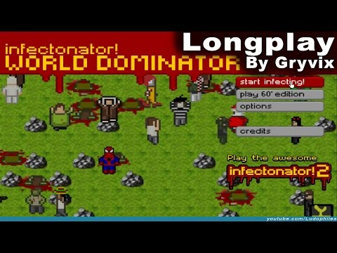 infectonator!: World Dominator - Longplay / Full Playthrough (no commentary)