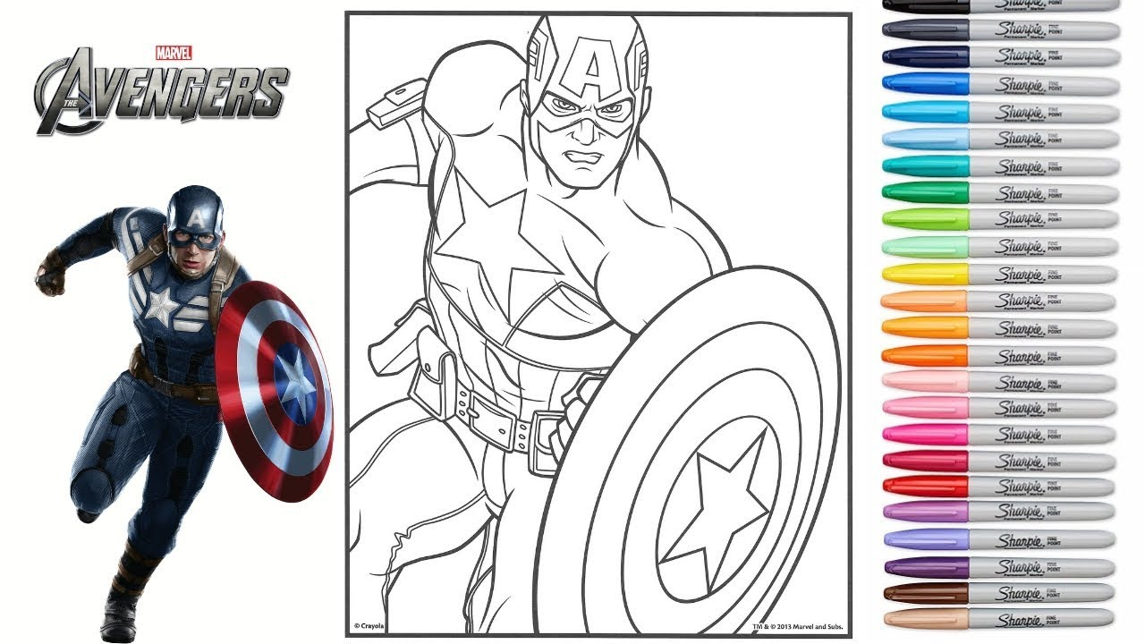 Coloring Marvel Avengers Endgame