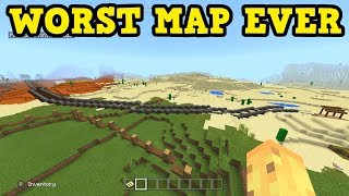 This Is The WORST RATED Minecraft Map EVER