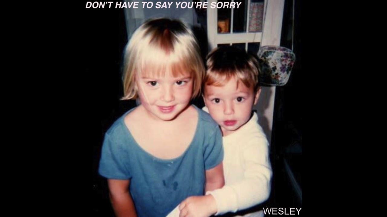 Resultado de imagem para wesley stromberg Dont Have You Say You Sorry