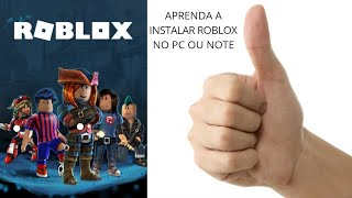 HOW TO INSTALL ROBLOX ON YOUR COMPUTER